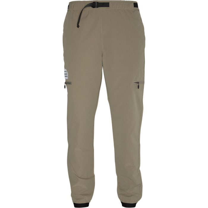 Trousers - Tapered fit - Sand