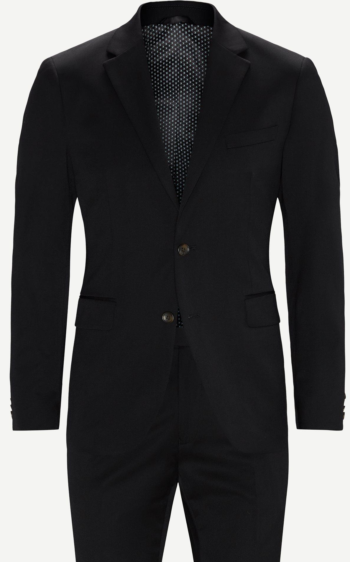 Suits - Regular - Black