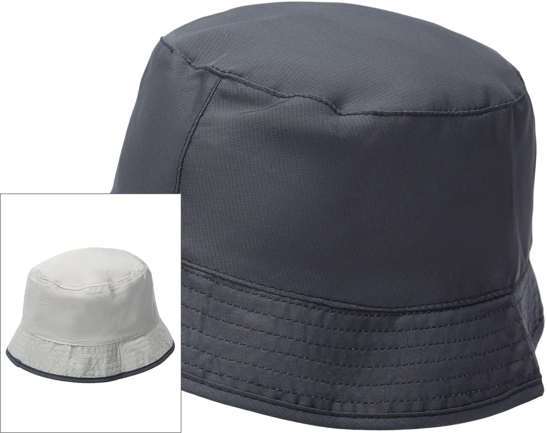 Nylon Pocket Bøllehat - Caps - Blå