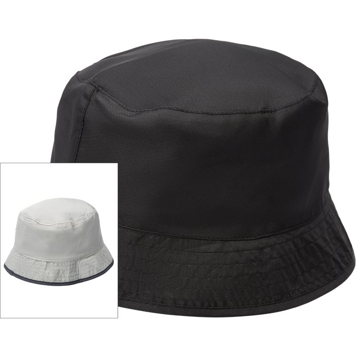 Nylon Pocket Bøllehat - Caps - Sort