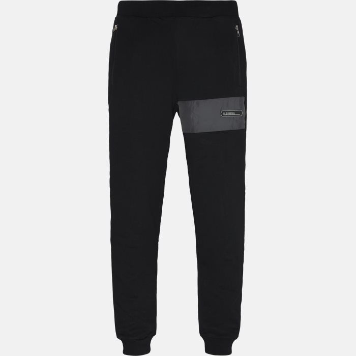 Trousers - Regular fit - Black
