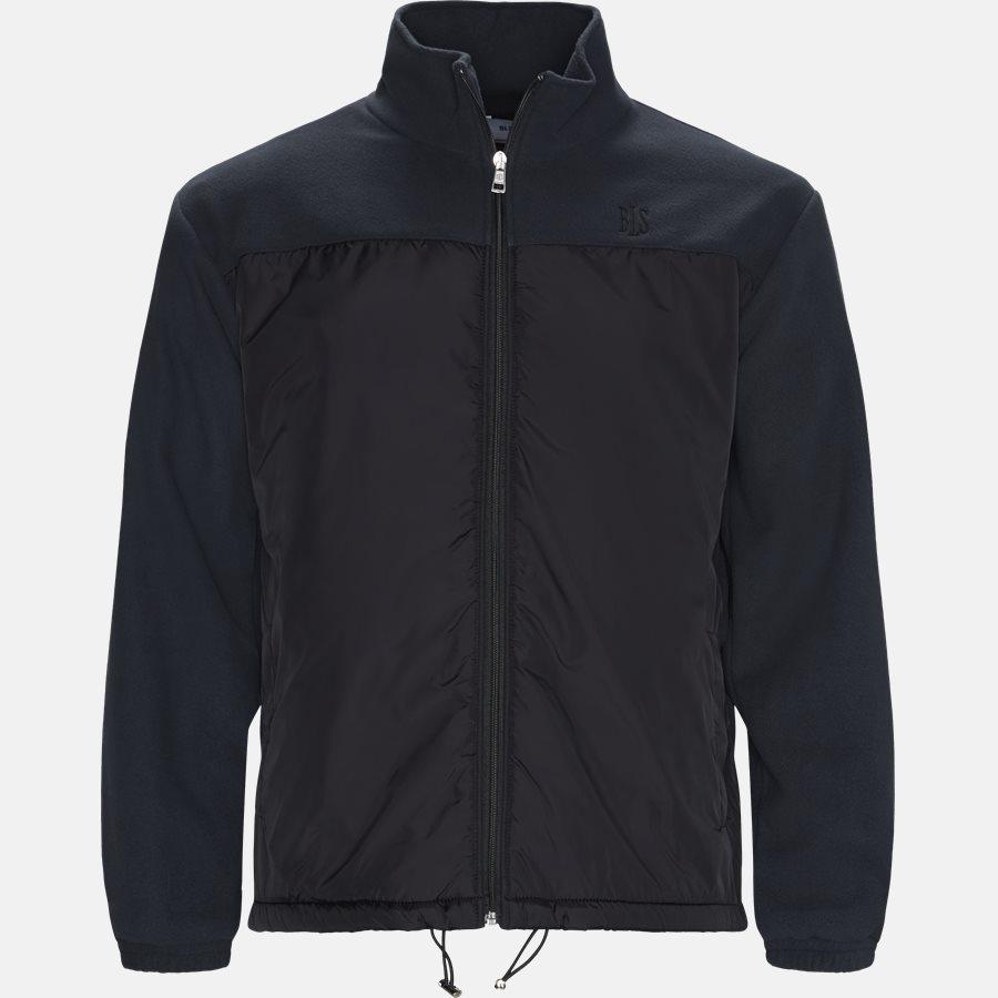 AGNELLI JACKET - Sweatshirts - Regular fit - BLACK - 1