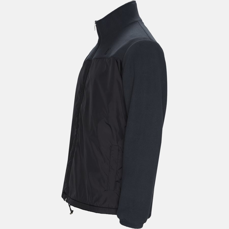 AGNELLI JACKET - Sweatshirts - Regular fit - BLACK - 4