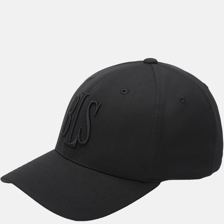 ORTEGA NY - Beanies - BLACK - 1