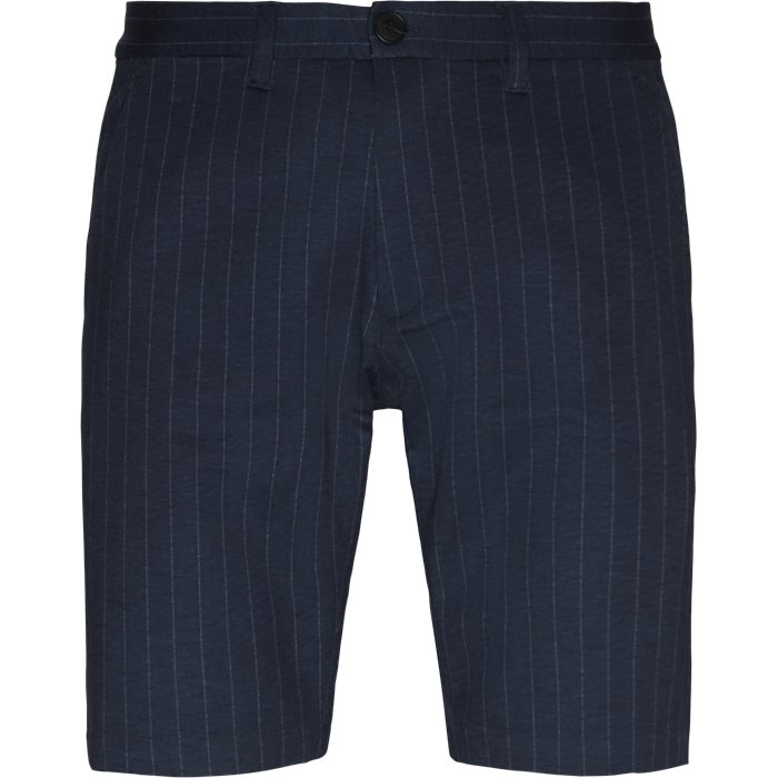 Jason Chino Pinstripe Shorts - Shorts - Regular - Blå