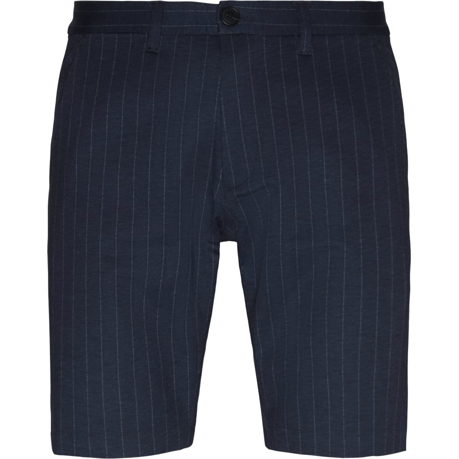 JASON CHINO PINSTRIPE. - Jason Chino Pinstripe Shorts - Shorts - Regular - NAVY - 1