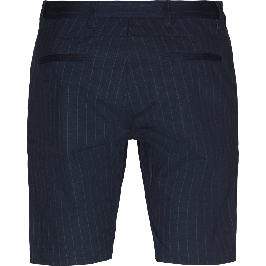 JASON CHINO PINSTRIPE. - Jason Chino Pinstripe Shorts - Shorts - Regular - NAVY - 2
