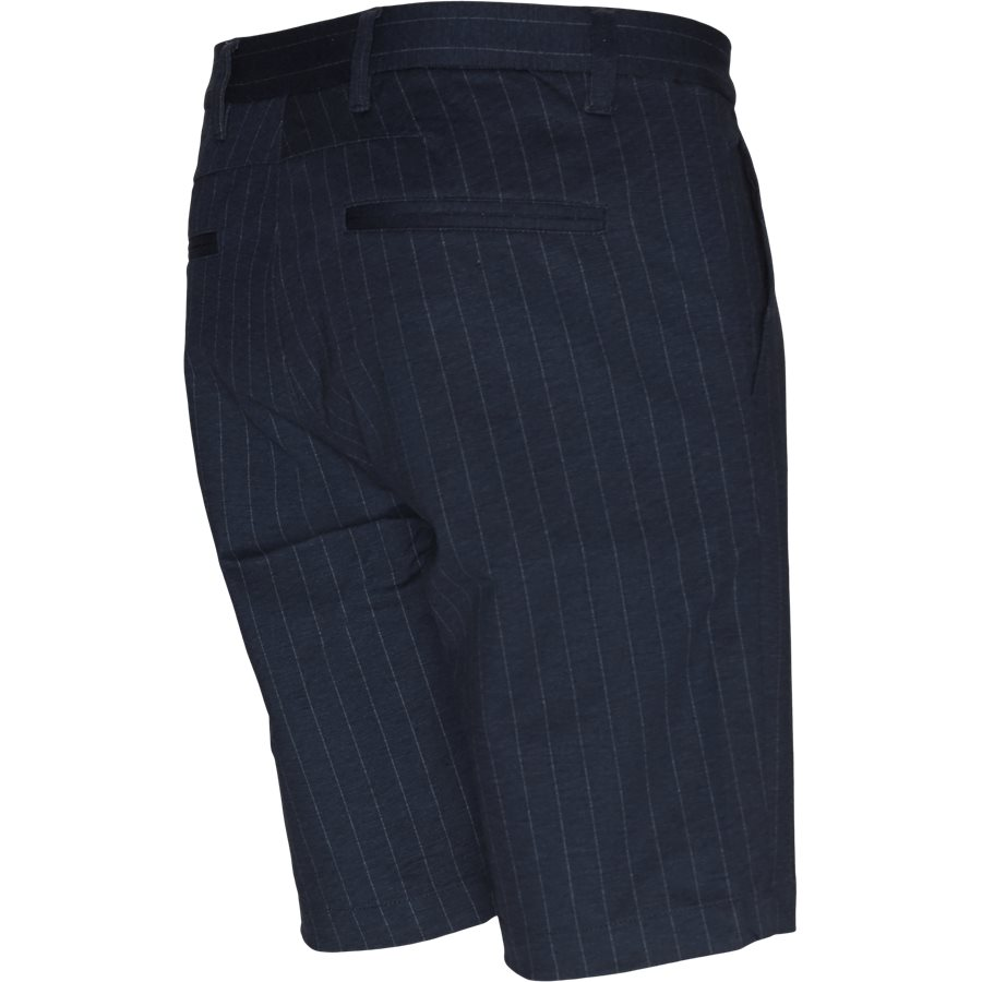 JASON CHINO PINSTRIPE. - Jason Chino Pinstripe Shorts - Shorts - Regular - NAVY - 3