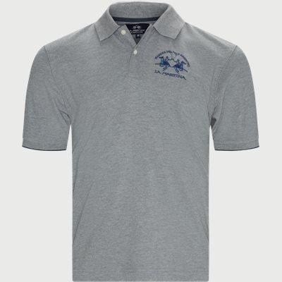 S/S Piquet Stretch Polo T-Shirt Regular | S/S Piquet Stretch Polo T-Shirt | Grå