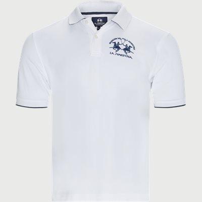 S/S Piquet Stretch Polo T-Shirt Regular | S/S Piquet Stretch Polo T-Shirt | Hvid