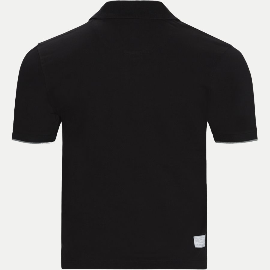 CCMP01 FW19 - S/S Piquet Stretch Polo T-Shirt - T-shirts - Regular - SORT - 2