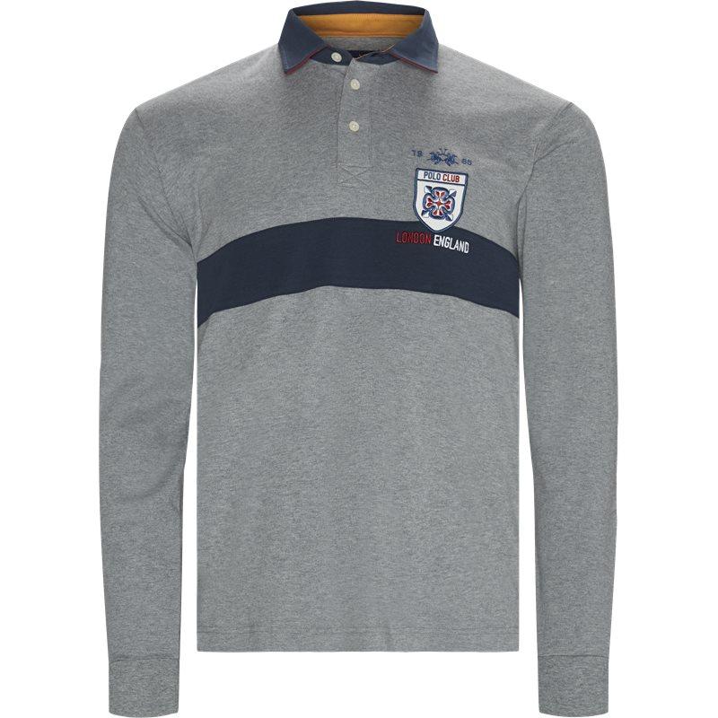Image of   La Martina - L/S Jersey Interlock Polo T-shirt