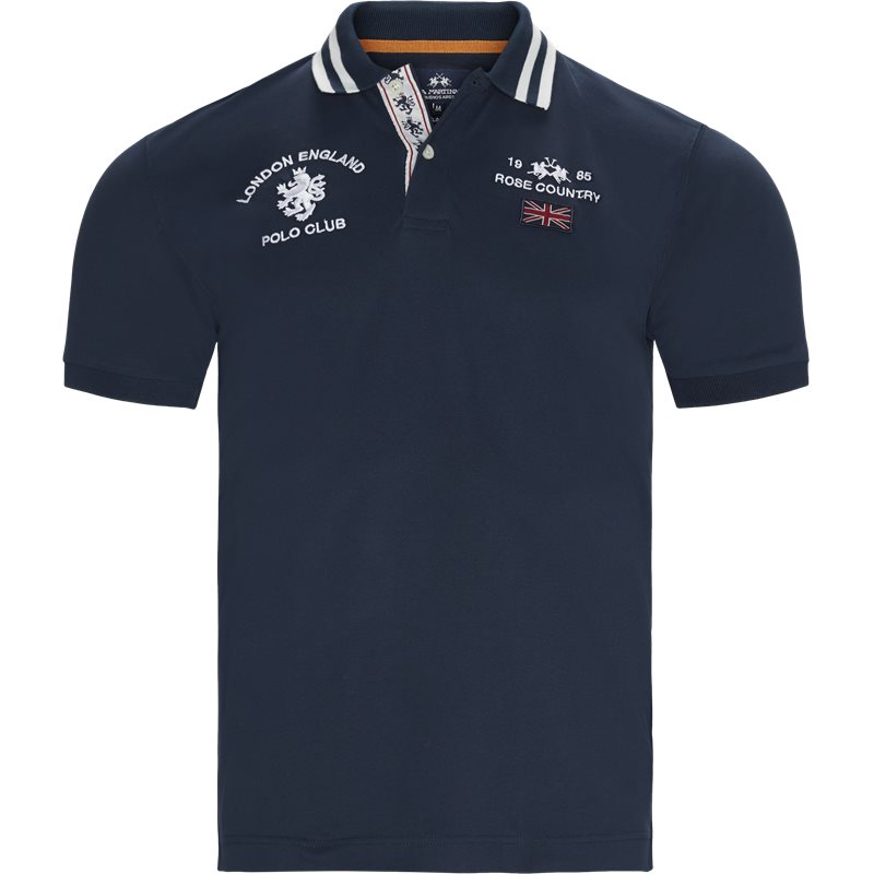 Image of   La Martina - S/S Piquet Stretch Polo T-Shirt