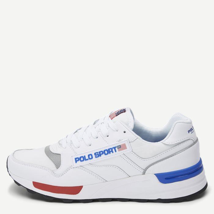 Trackstr 100-SK-ATH Sneaker - Sko - Hvid