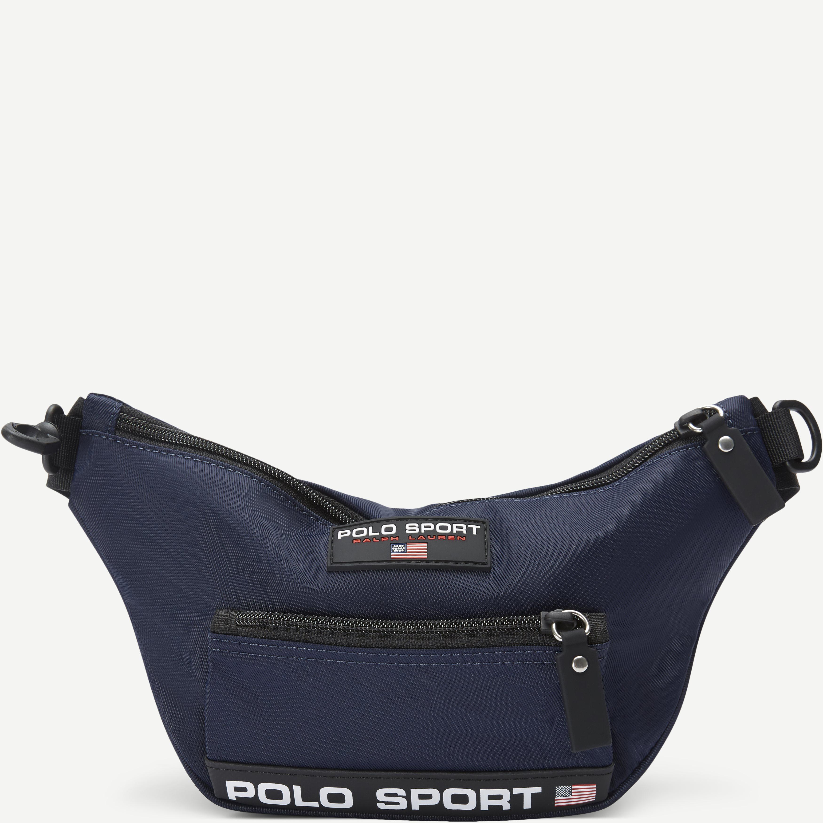 Nylon Polo Sport Waist Bag - Tasker - Blå