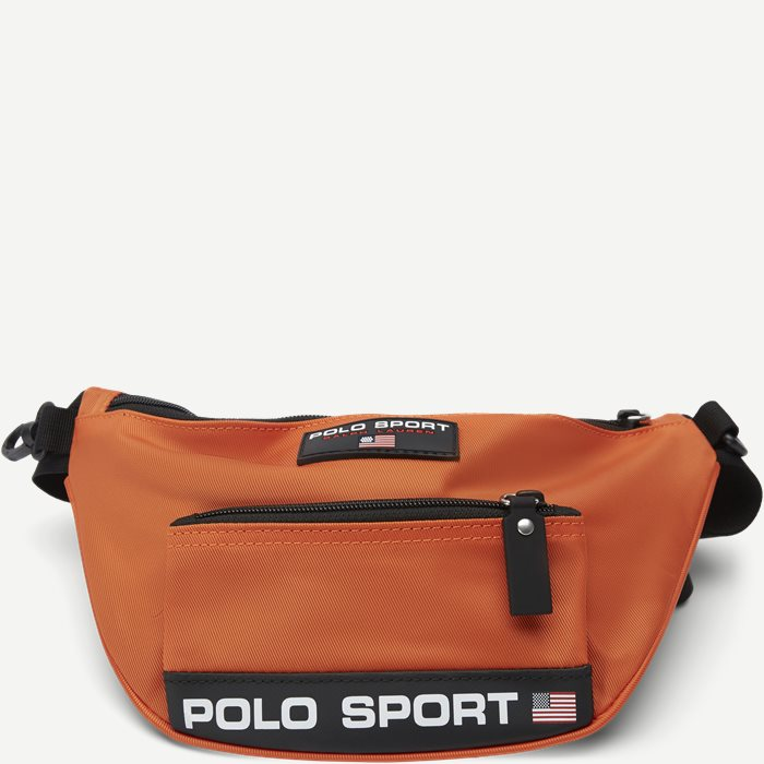 Nylon Polo Sport Waist Bag - Tasker - Orange