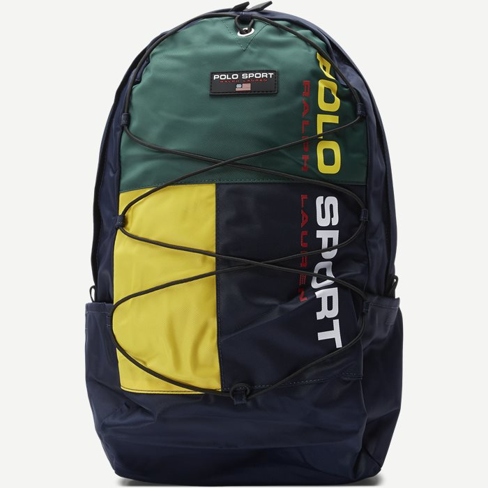 Nylon Polo Sport Backpack - Tasker - Blå