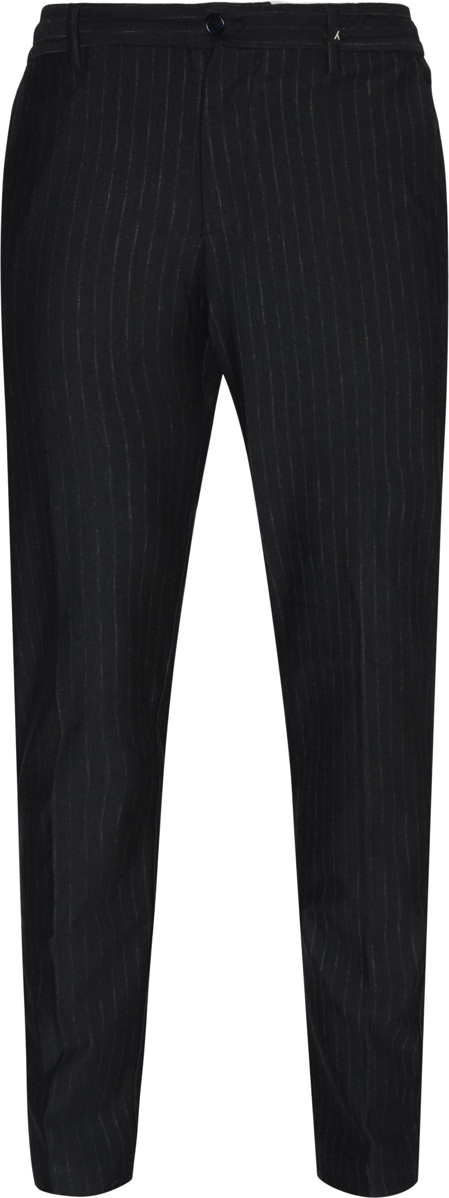 Bukser - Loose fit - Blå