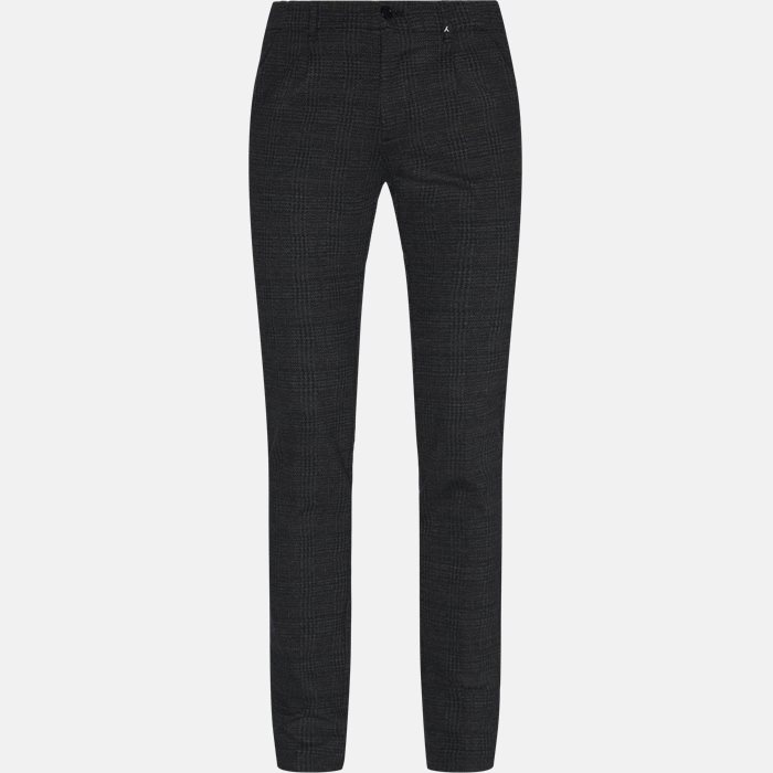 Trousers - Regular fit - Grey
