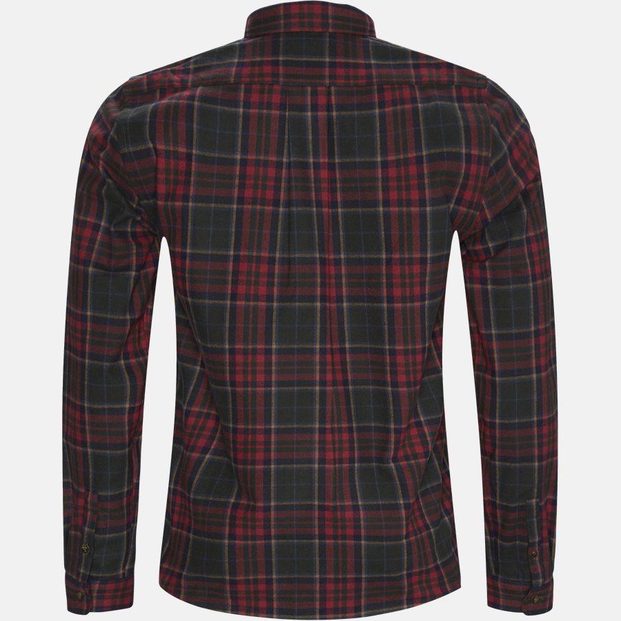 FLANNEL SHIRT - Shirts - Regular - RED - 2