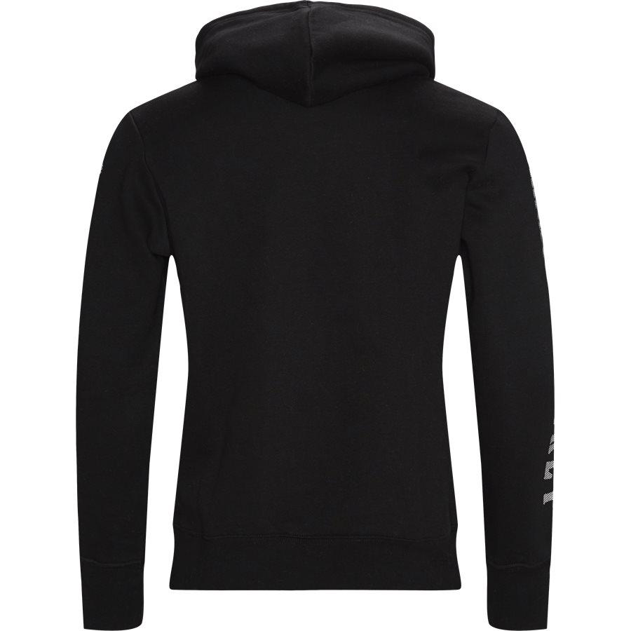 PRINT GUN HOODIE - Sweatshirts - SORT - 2