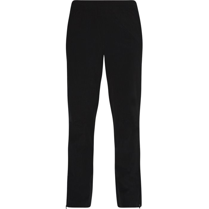 Trousers - Tailored fit - Black