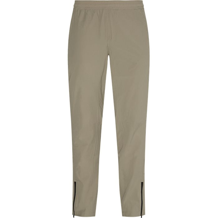 Trousers - Tailored fit - Sand