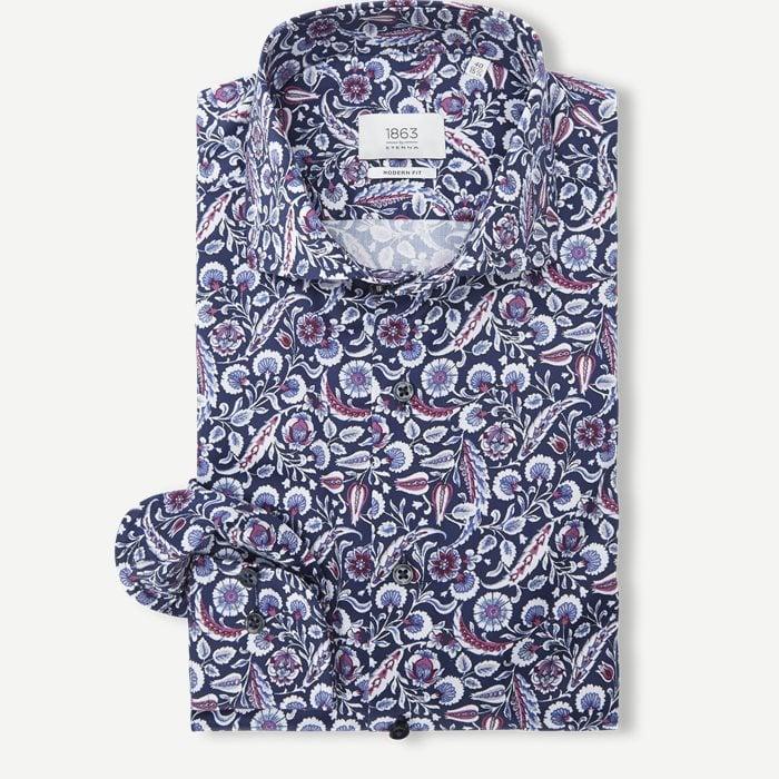821 Skjorte - Skjorter - Modern fit - Blå