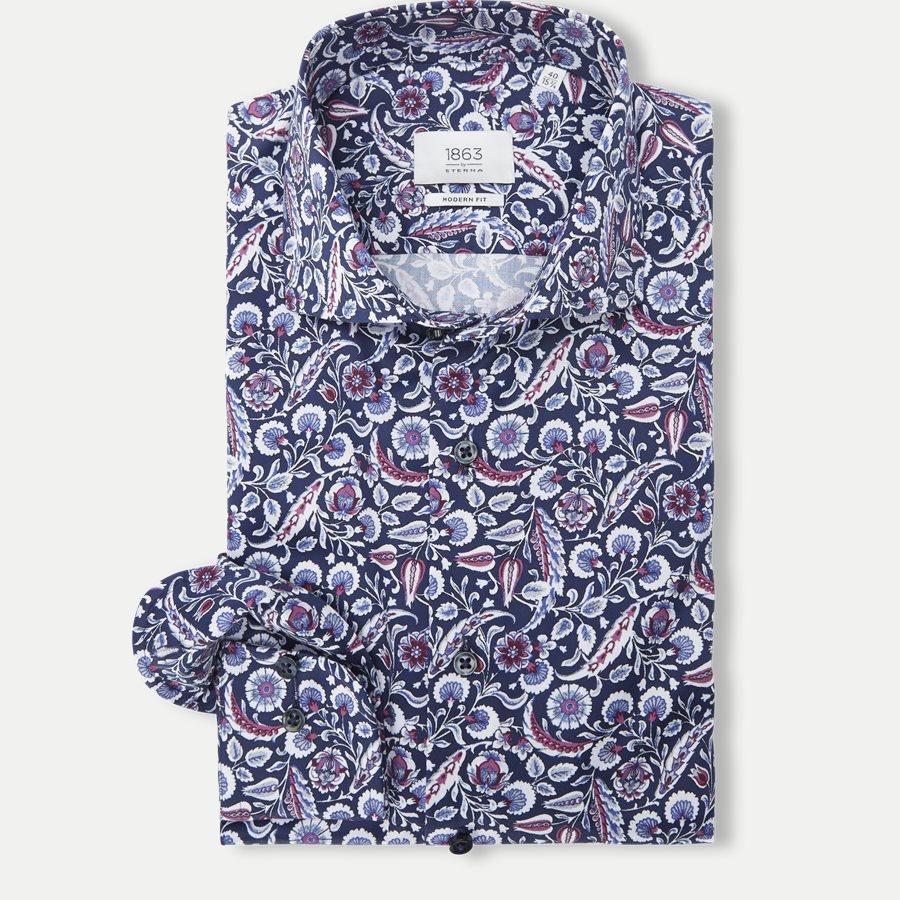 821 X682 - 821 Skjorte - Skjorter - Modern fit - BLÅ - 1