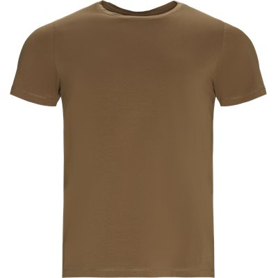 Regular fit   T-shirts   Brown
