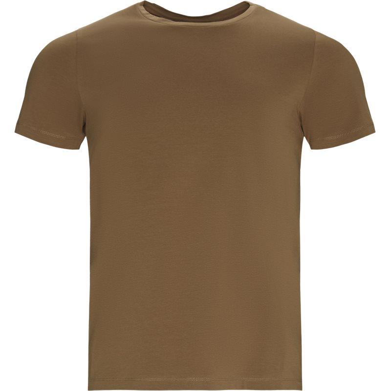 Billede af OSCAR JAKOBSEN Regular fit KYRAN 67893815310 T-shirts Brun