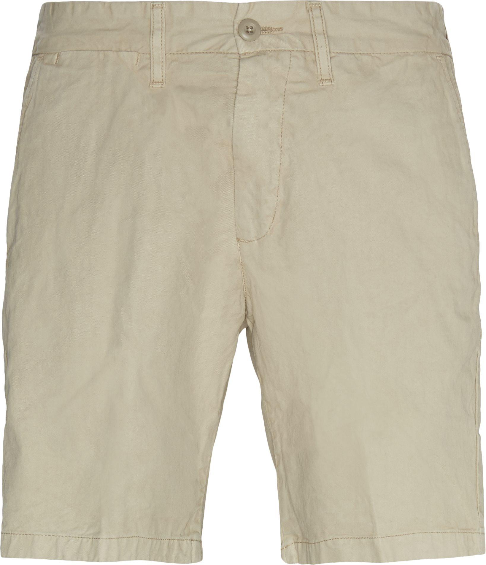 Shorts - Regular fit - Sand