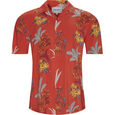Hawaiian Shirt Regular | Hawaiian Shirt | Rød