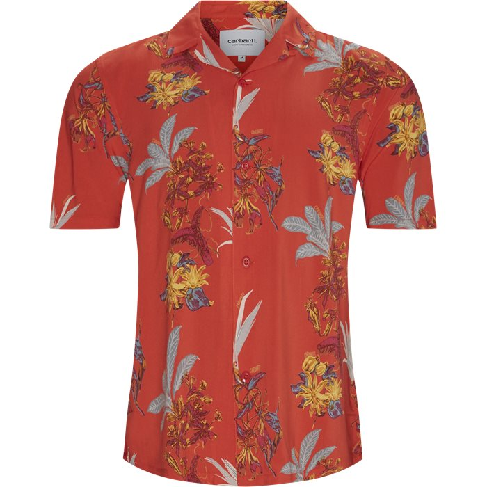 Hawaiian Shirt - Skjorter - Regular - Rød