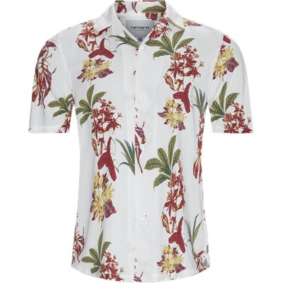 Hawaiian Shirt Regular | Hawaiian Shirt | Hvid