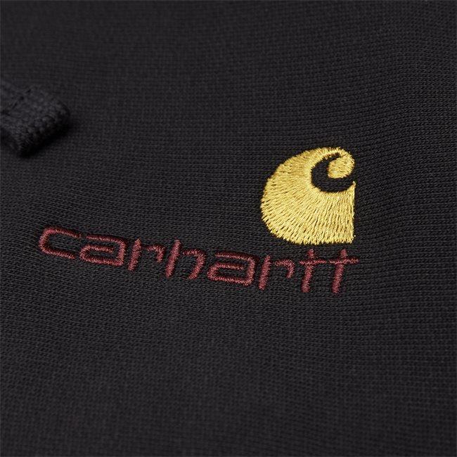 Hooded American Script Sweatshirt
