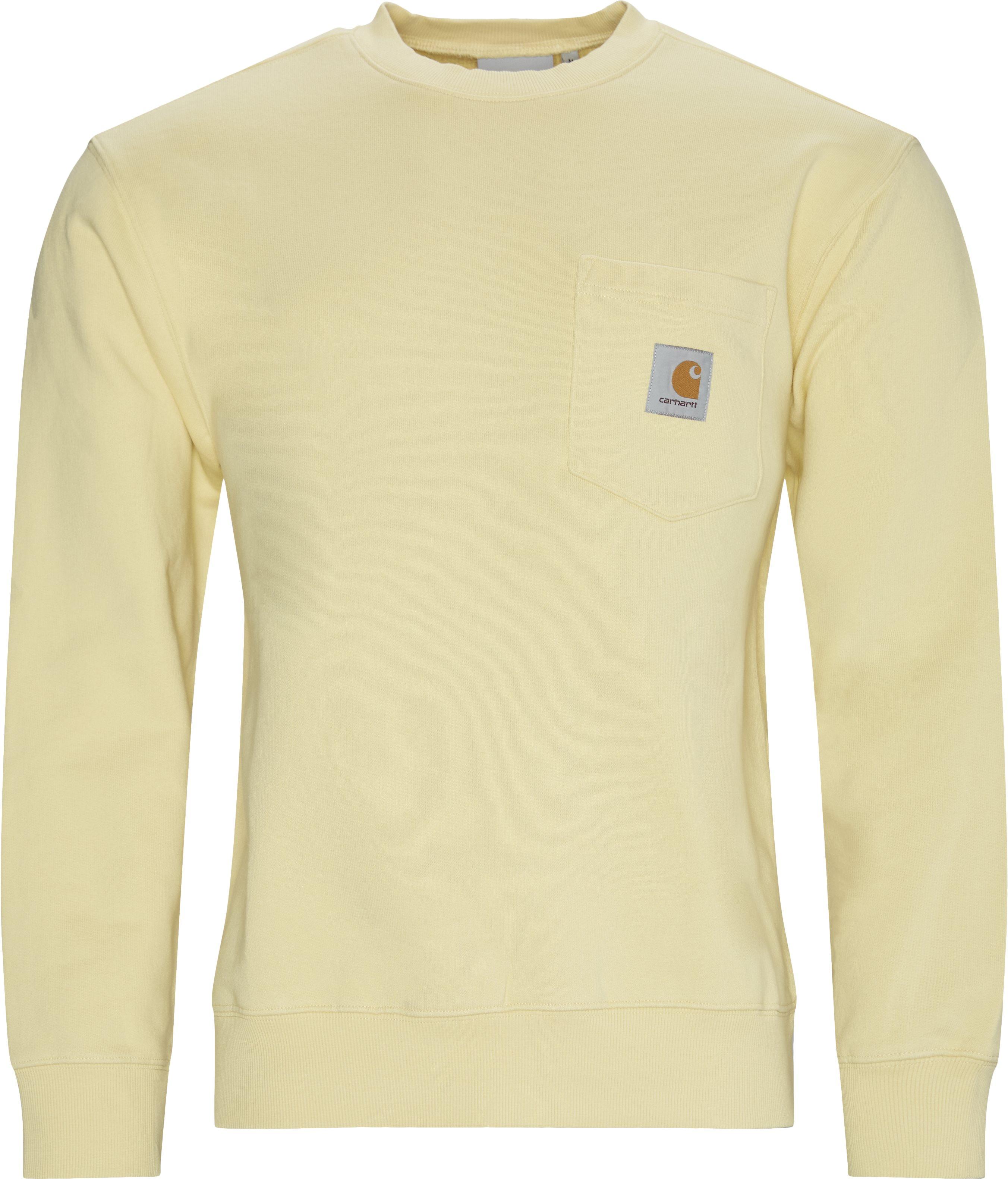 Sweatshirts - Regular - Yellow