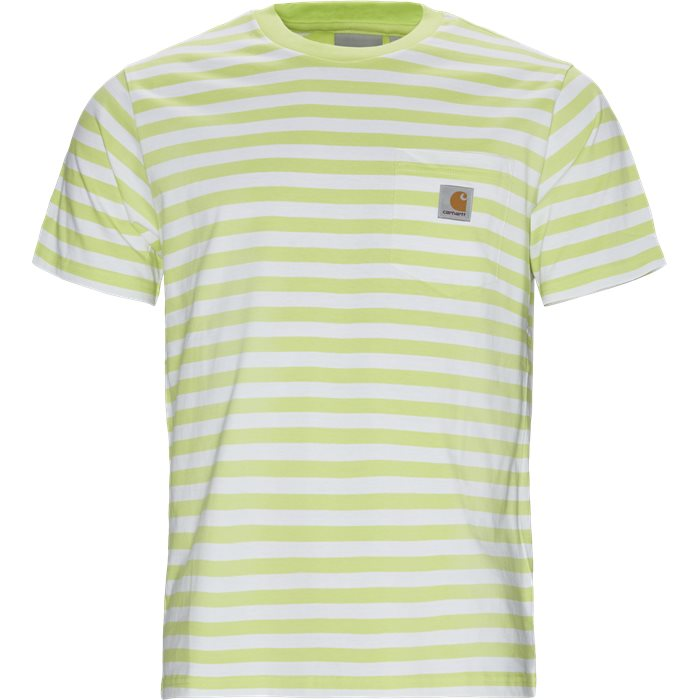 S/S Scotty Pocket T-shirt - T-shirts - Regular - Grøn