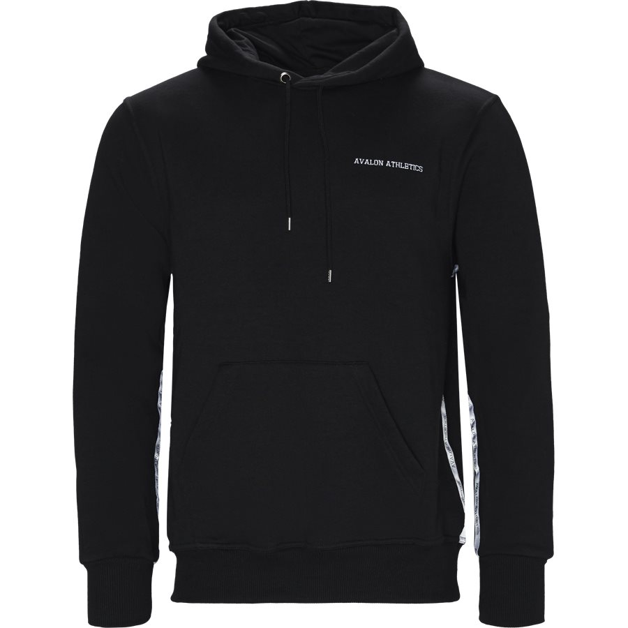DOLPHIN - Dolphin Hoodie  - Sweatshirts - Regular - BLACK - 1