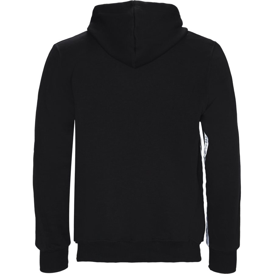 DOLPHIN - Dolphin Hoodie  - Sweatshirts - Regular - BLACK - 2