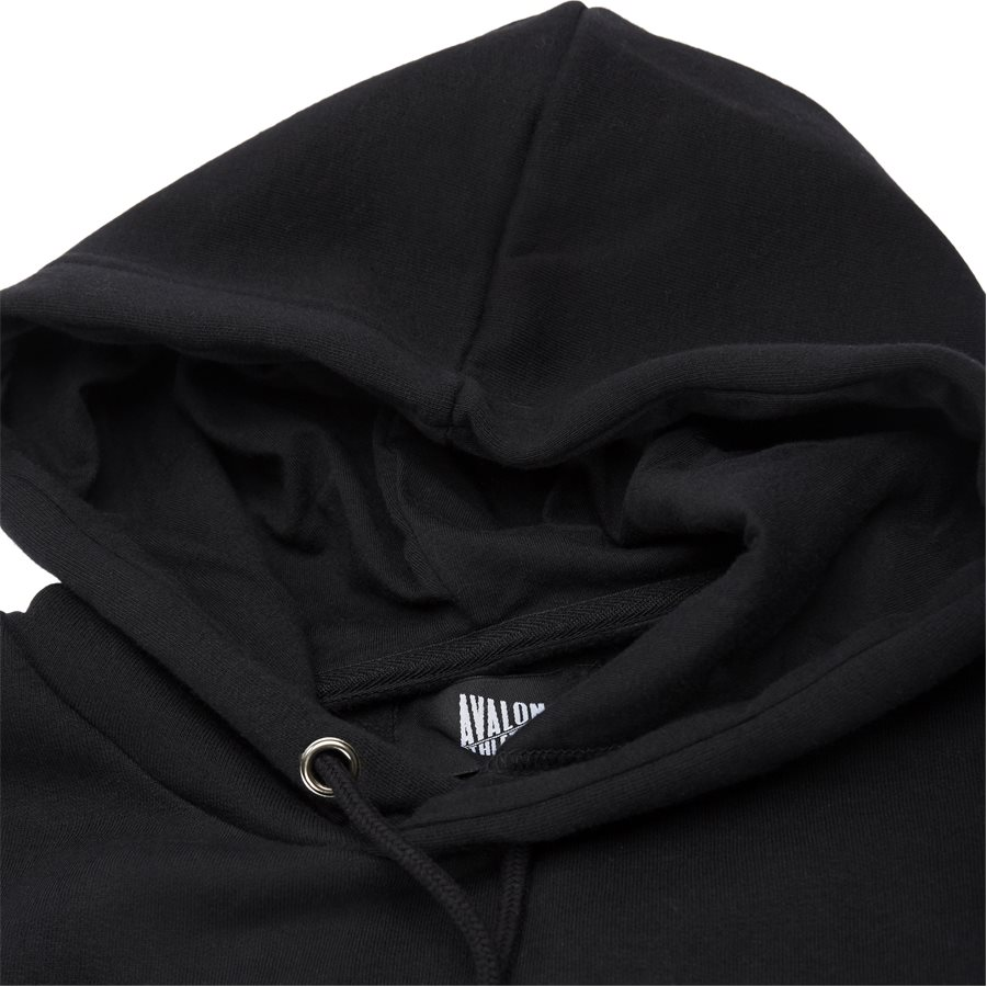DOLPHIN - Dolphin Hoodie  - Sweatshirts - Regular - BLACK - 4