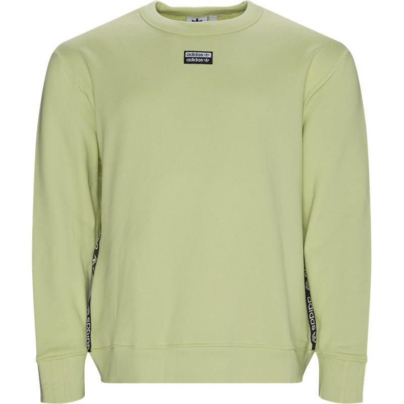 Image of   Adidas Originals Vocal D Crew Neck Sweatshirt Lime