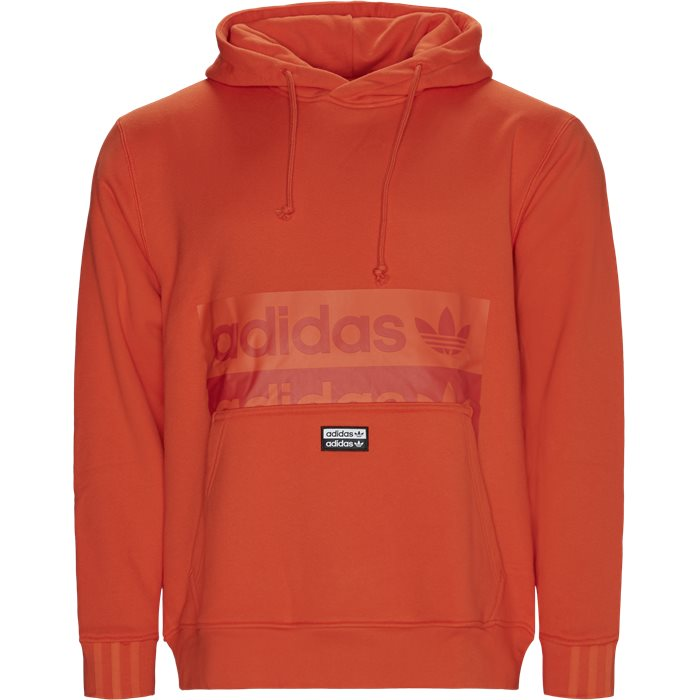 D-R.Y.V. Hoody - Sweatshirts - Regular - Orange