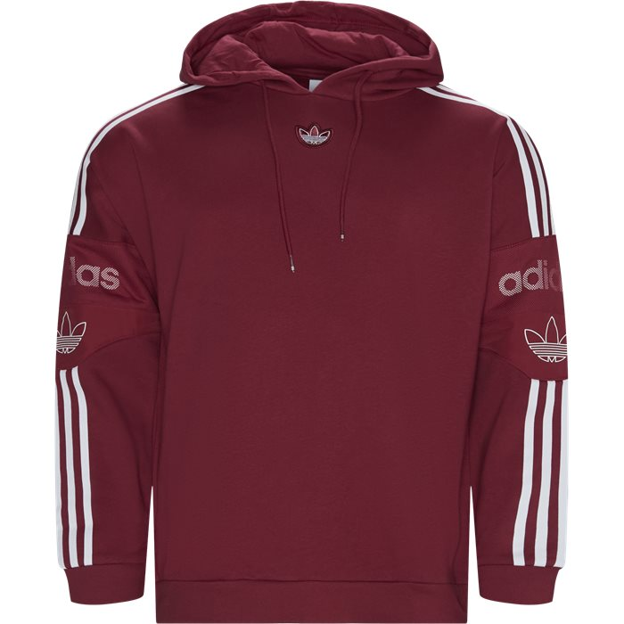 TS TRF Hoody - Sweatshirts - Regular - Bordeaux