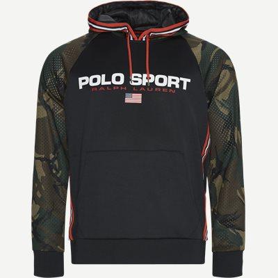 Polo Sport Camo Hoodie Regular | Polo Sport Camo Hoodie | Sort