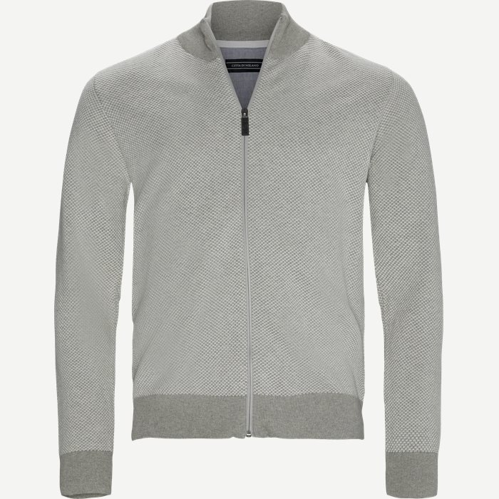 Cologne Cardigan - Strik - Regular - Sand