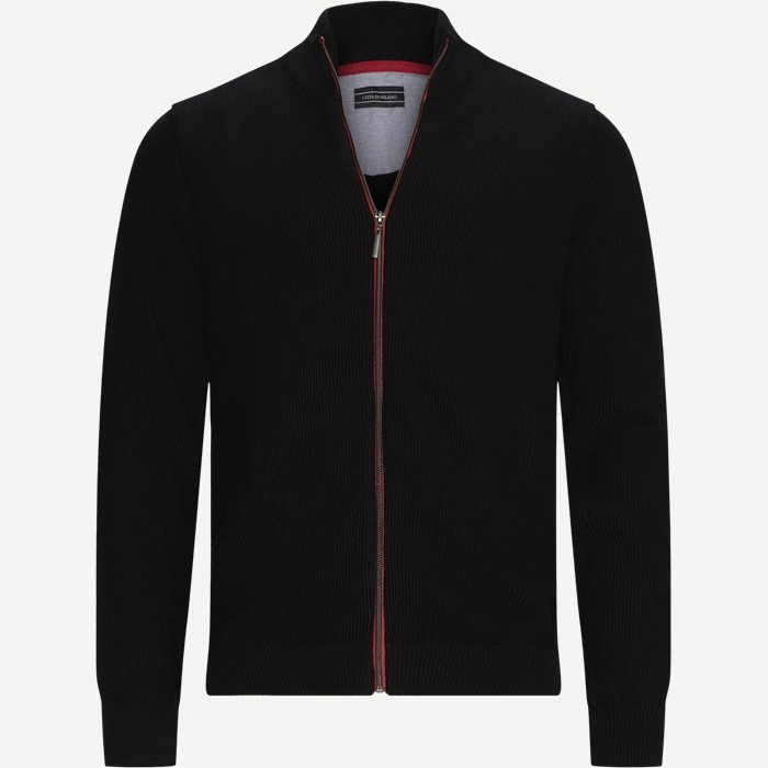 Munich Cardigan - Strik - Regular - Sort