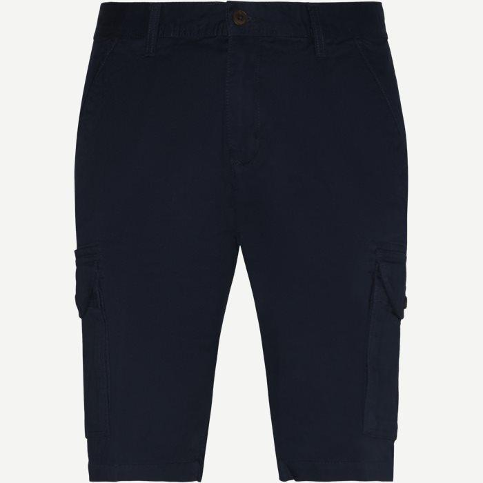 Eifel Cargo Shorts - Shorts - Regular - Blå