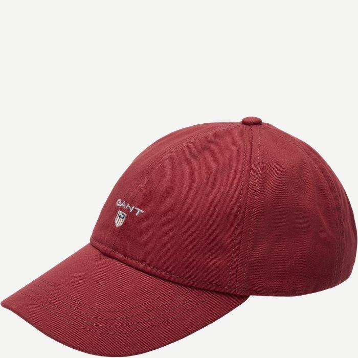 Gant Twill Cap - Caps - Rød