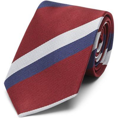 Deep Red Striped Slips Deep Red Striped Slips | Rød